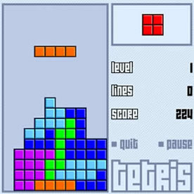 Tetris Screenshot 3