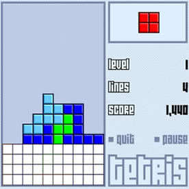 Tetris Screenshot 4